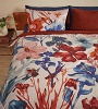 Beddinghouse dekbedovertrek Iris Field rood