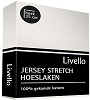 Livello jersey hoeslaken offwhite