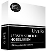 Livello jersey hoeslaken wit