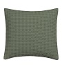 Vandyck kussensloop Pique wafel earth green 40x55 cm
