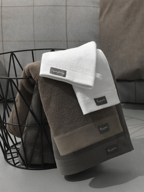 16d21accc77 Vandyck badgoed Home Colletion uni mole grey 01 :: Handdoeken ...