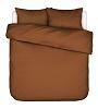 Essenza dekbedovertrek Minte leather brown