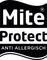 Mite Protect label
