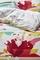 Esprit dekbedovertrek Floria detail