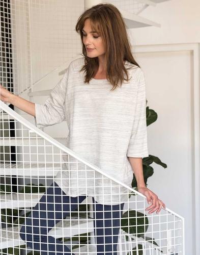 Essenza Sweater Nova melange grijs