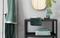 Essenza badgoed Connect Organic Uni, Lines , Breeze groen sfeer