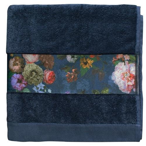 Essenza badgoed Fleur blauw