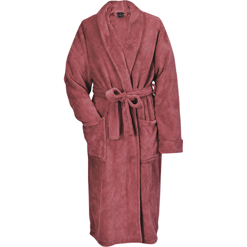 Livello Badjas fleece winter roze