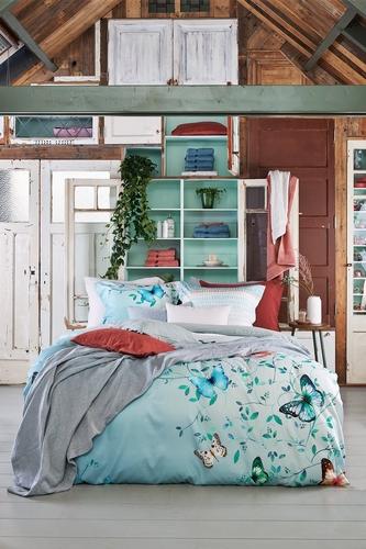 Vandyck dekbedovertrek Soft Hearted seagreen