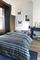 Beddinghouse dekbedovertrek Pendleton blauw sfeer