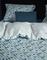Essenza dekbedovertrek Haui blauw detail
