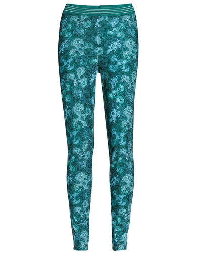 Essenza legging Jet Paisa emerald