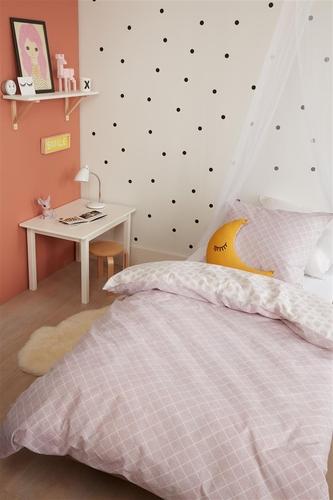 Beddinghouse dekbedovertrek Nolah pink