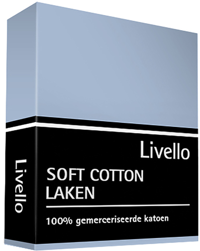 Livello laken soft cotton blue