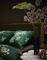 Essenza dekbedovertrek Lauren detail groen