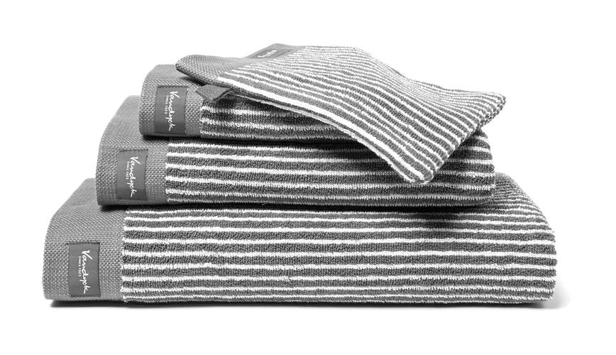 Vandyck badgoed Home Petite Ligne mole grey 01