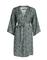 Essenza kimono Kaila Snake groen voorkant