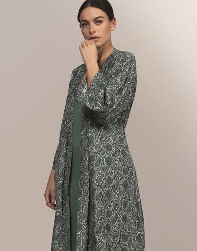 Essenza kimono Kaila Snake groen