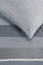 Beddinghouse dekbedovertrek grijs detail