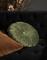 Essenza sierkussen Furry leather brown en naina moss sfeer
