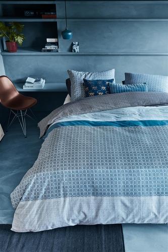 Beddinghouse dekbedovertrek Birger blauw
