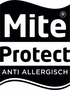 Mite Protect label